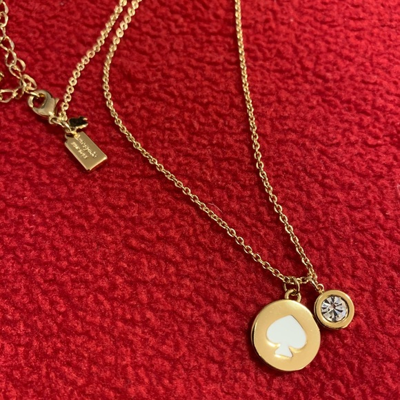 Authentic Kate Spade: 12K Gold Necklace